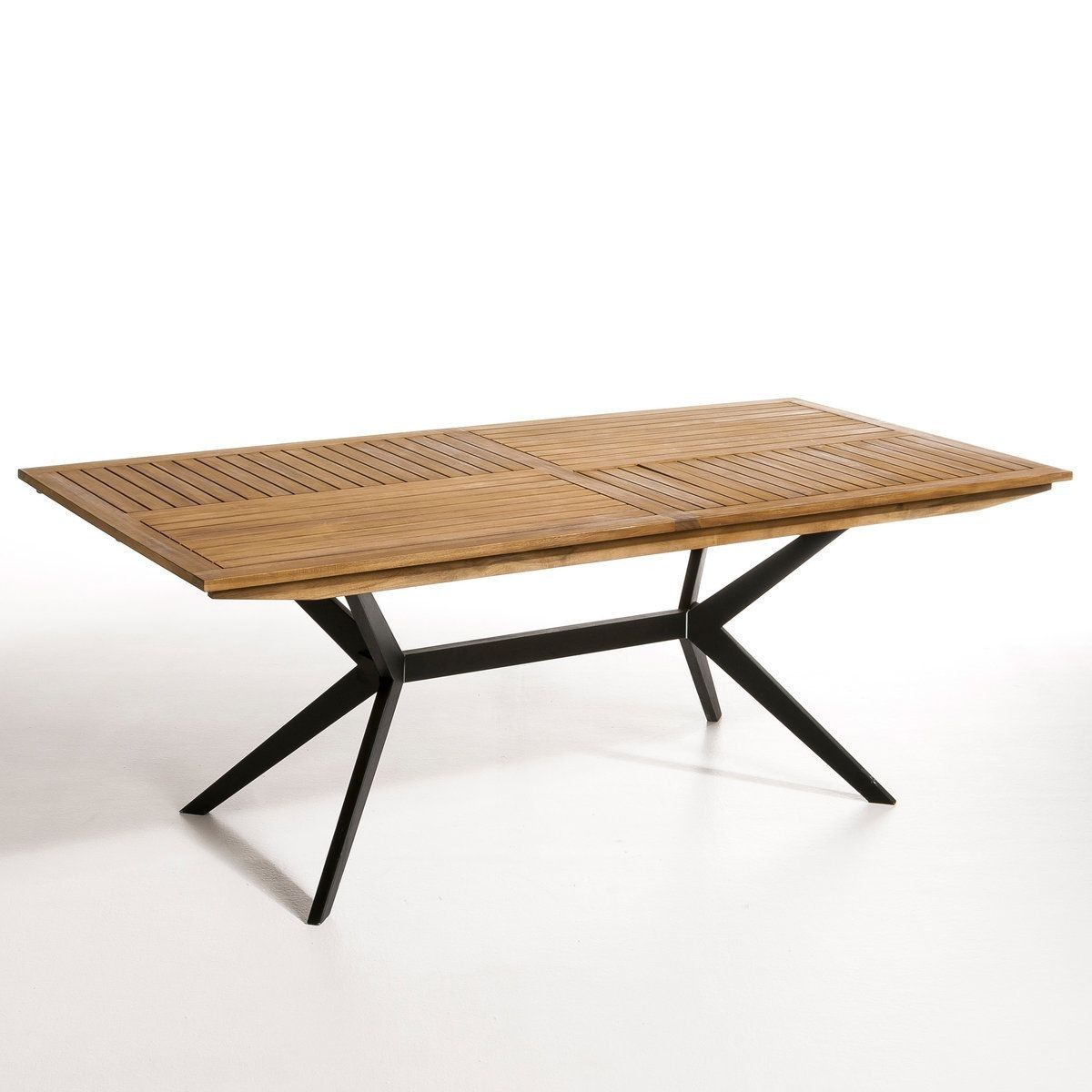 Table de jardin rectangulaire, Jakta   mobilier jardin en ...