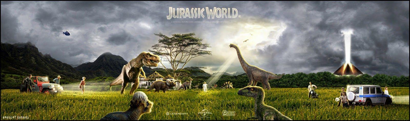 Jurassic World Poster (2)