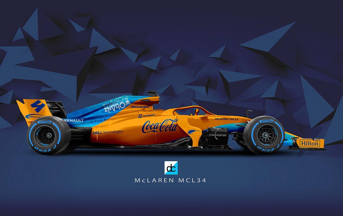 F1 2019 Season Concept Liveries On Behance