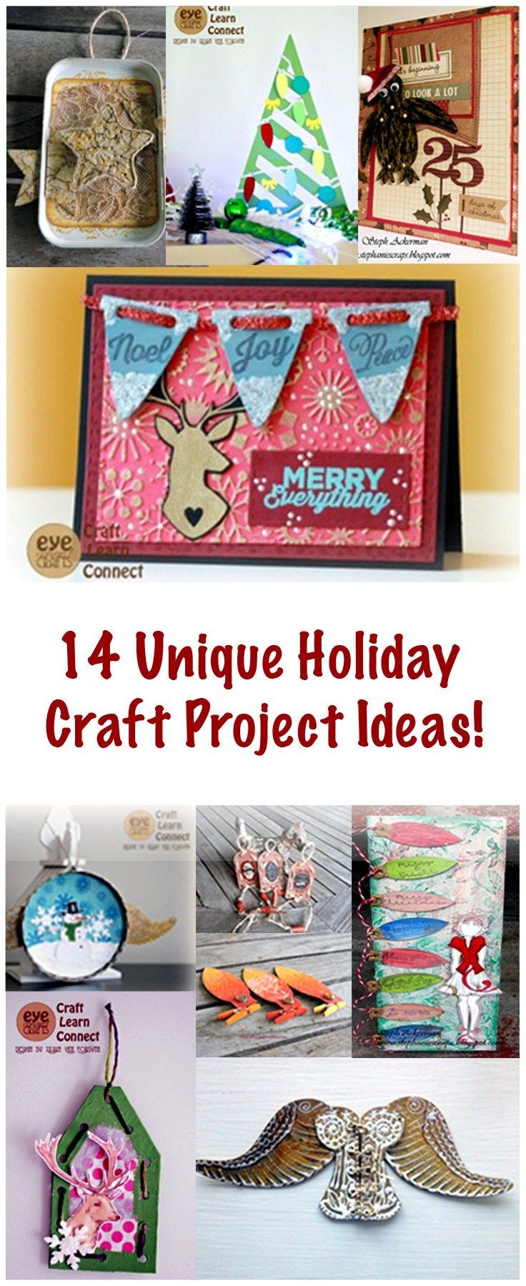 unique holiday craft project ideas crafting ideas for all year