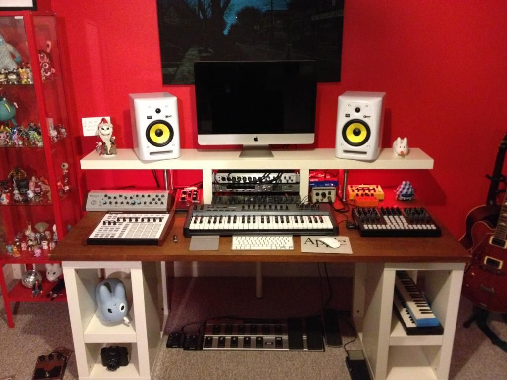 studio desk ikea tv studio desks pinterest studio desk desks and studio. Black Bedroom Furniture Sets. Home Design Ideas