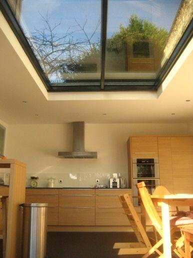 verriere, plafond verre, maison de ville d\u0027architecte Architecture