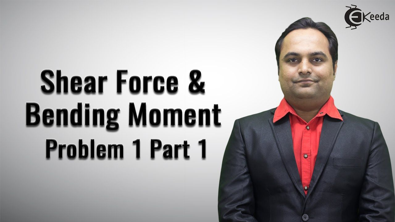Shear Force And Bending Moment Video Tutorials Online Problem No Tutorial On How To Calculate In Beams 1 Pa