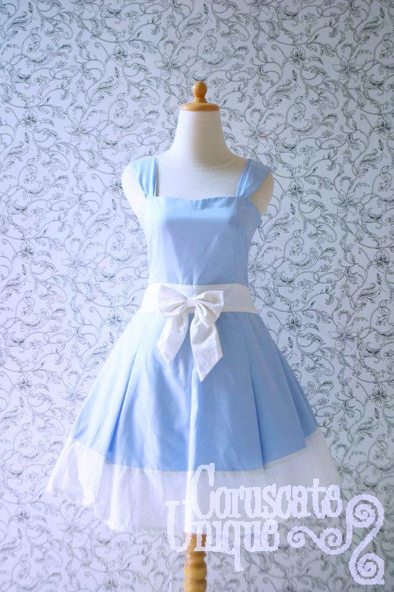 Alice In Wonderland Inspired Dress Alice In Wonderland