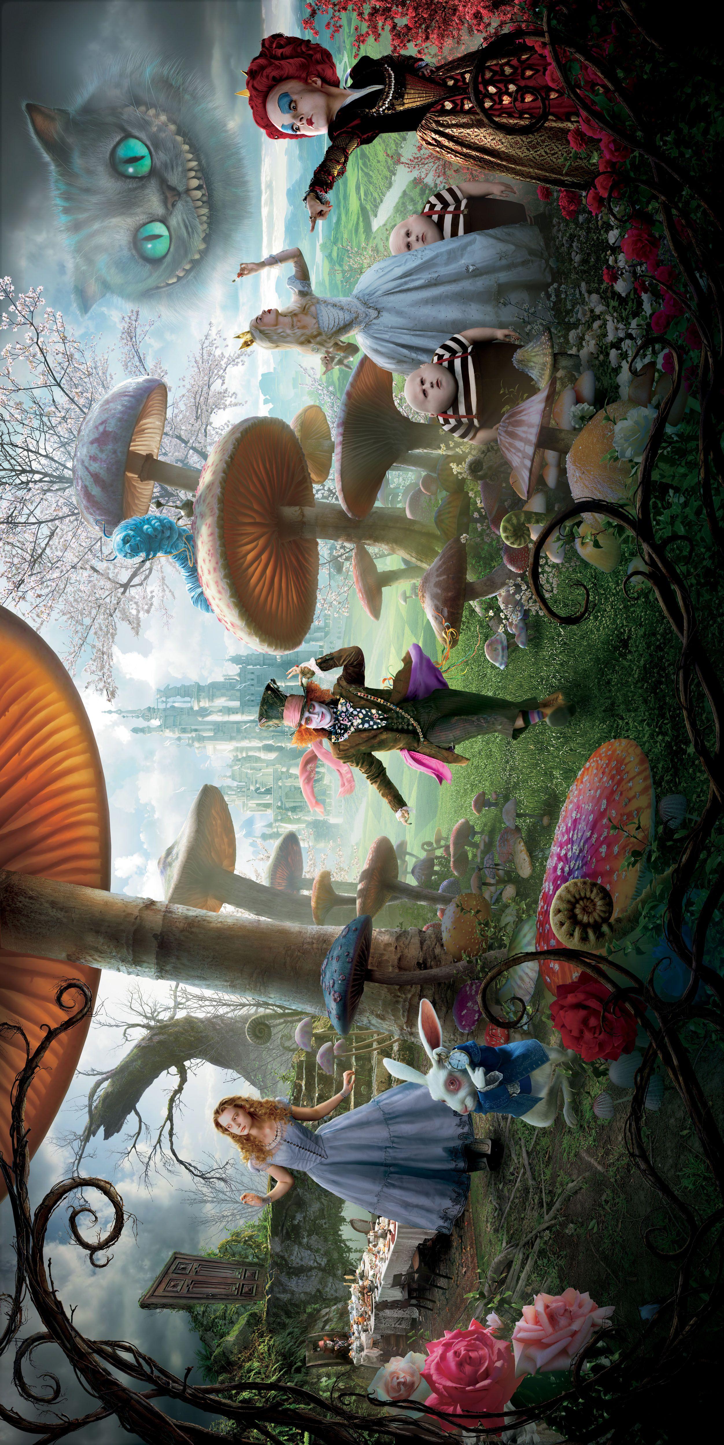 High Resolution Movie Image Tatuagem Alice No Pais Das