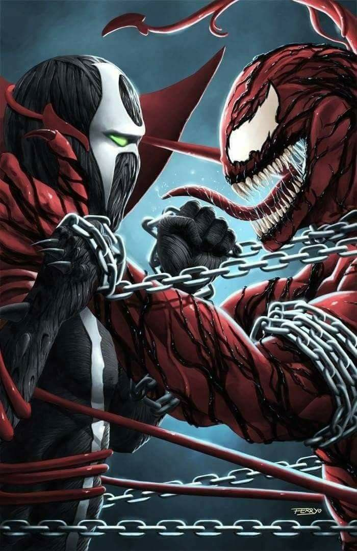 Awesome Wallpapers Girl Sniper Carnage Spawn Symbiote Pinterest Spawn Marvel And