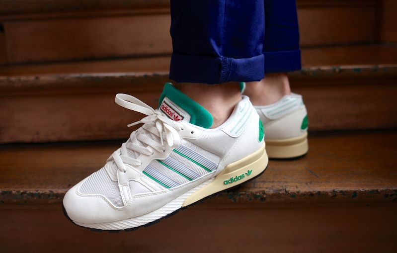 Kanye West wearing adidas ZX 710 OG White/Green (1) | Red wing | Pinterest  | Kanye west, Adidas shoes and Adidas ZX