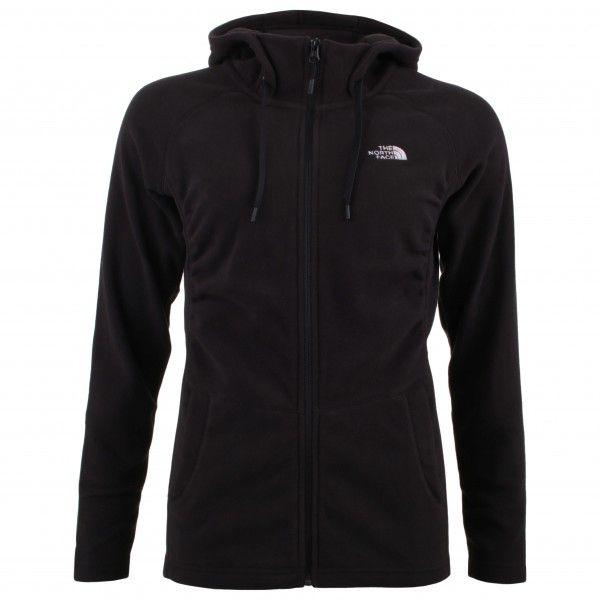 mezzaluna full zip hoodie maat xs zwart the north face