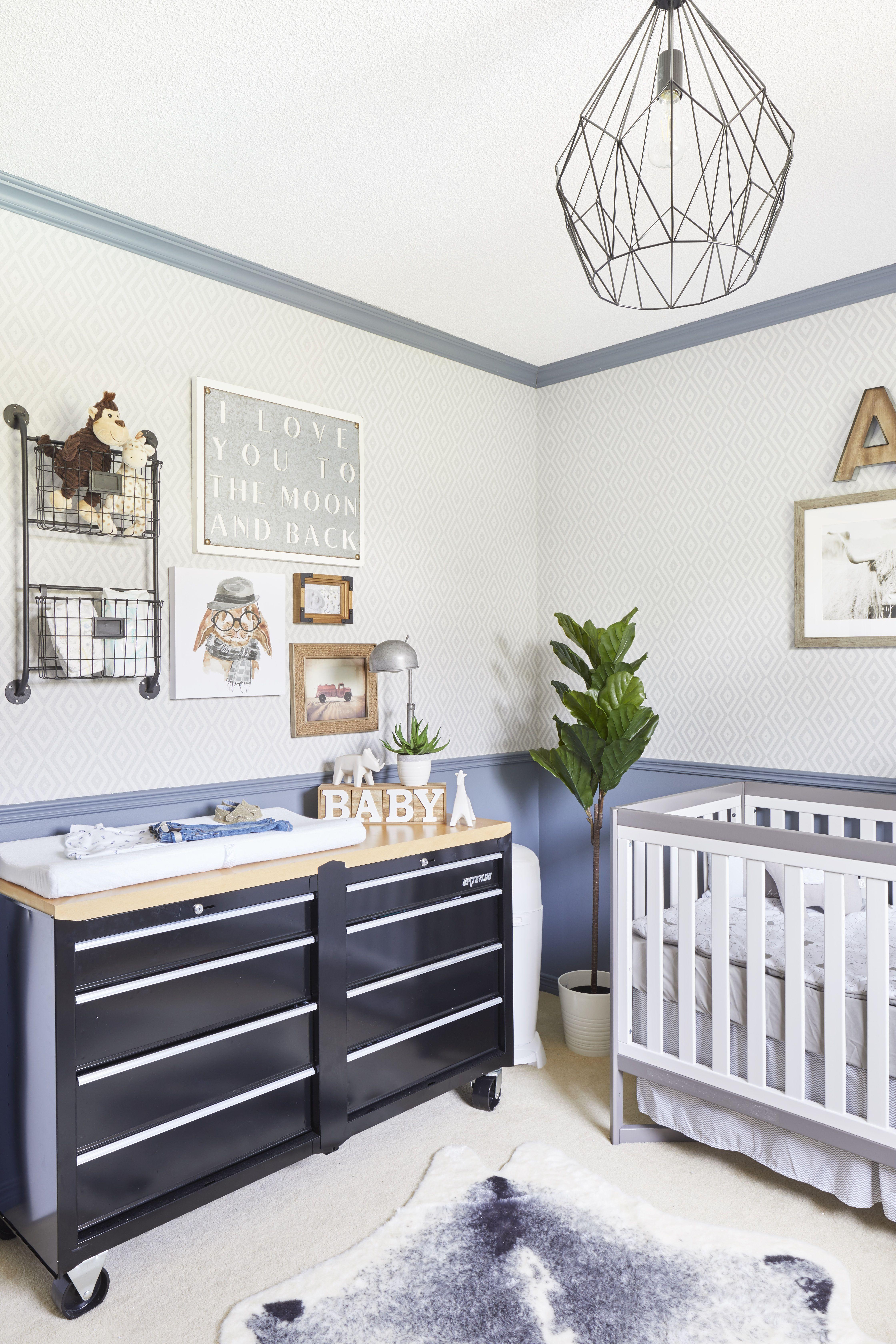 Boy S Nursery Tool Chest As A Dresser By Jo Alcorn Baby