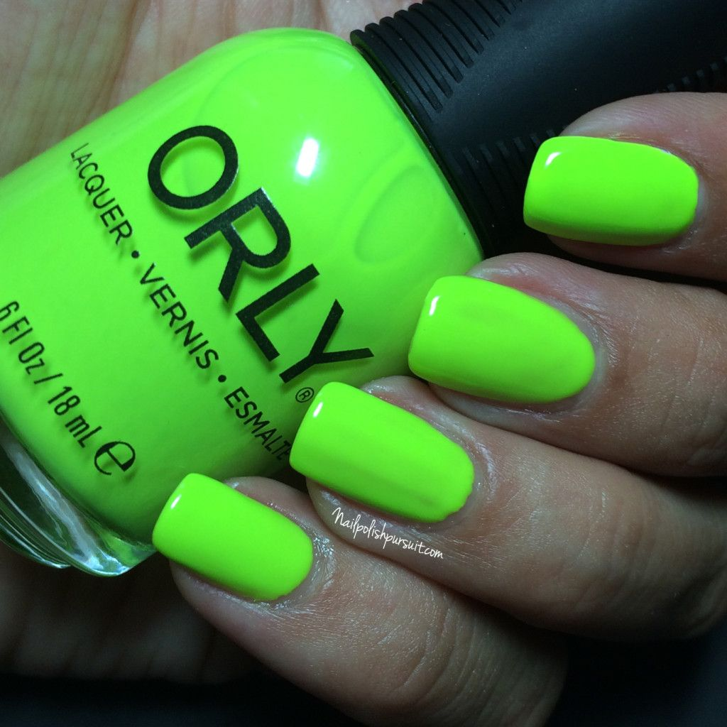 Thrill Seeker by Orly | Adrenaline Rush Summer 2015 Collection | The ...