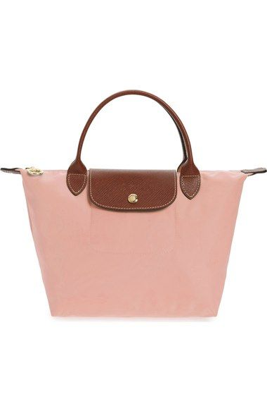 dce0e4f056bb LONGCHAMP  Mini Le Pliage  Handbag.  longchamp  bags  leather  hand bags   nylon  tote  lining