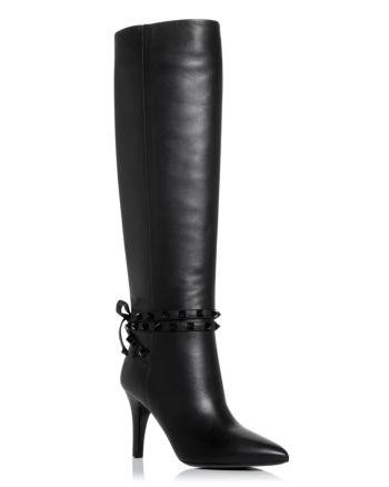 Valentino Garavani Women's Pointed Toe High Heel Boots