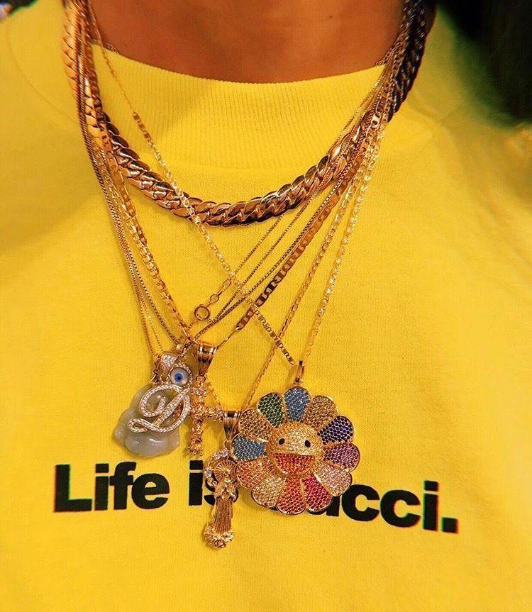 Custom Murakami Flower Fidget spinner pendant with