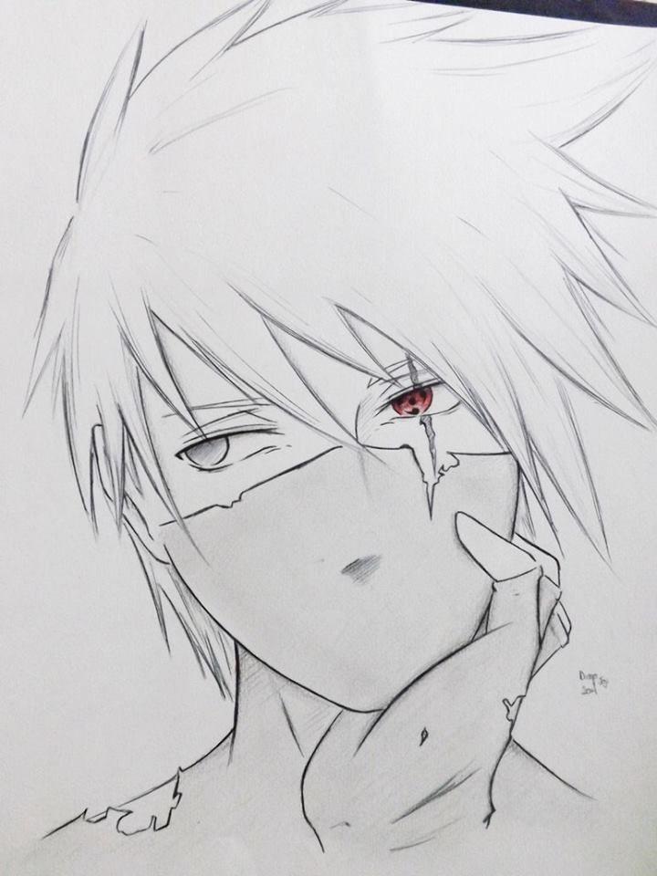 Kakashi By Diegoyolijoji Kakashi Desenho Anime Naruto Naruto Desenho