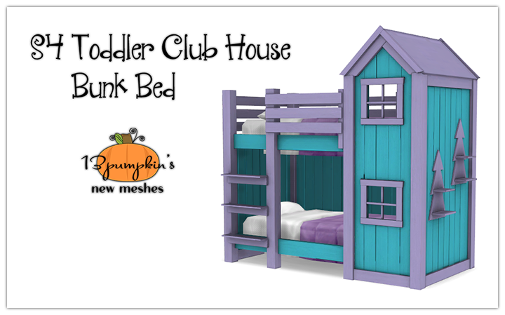 S4 Toddler Club House Bunk Bed | Hell Has Spoken