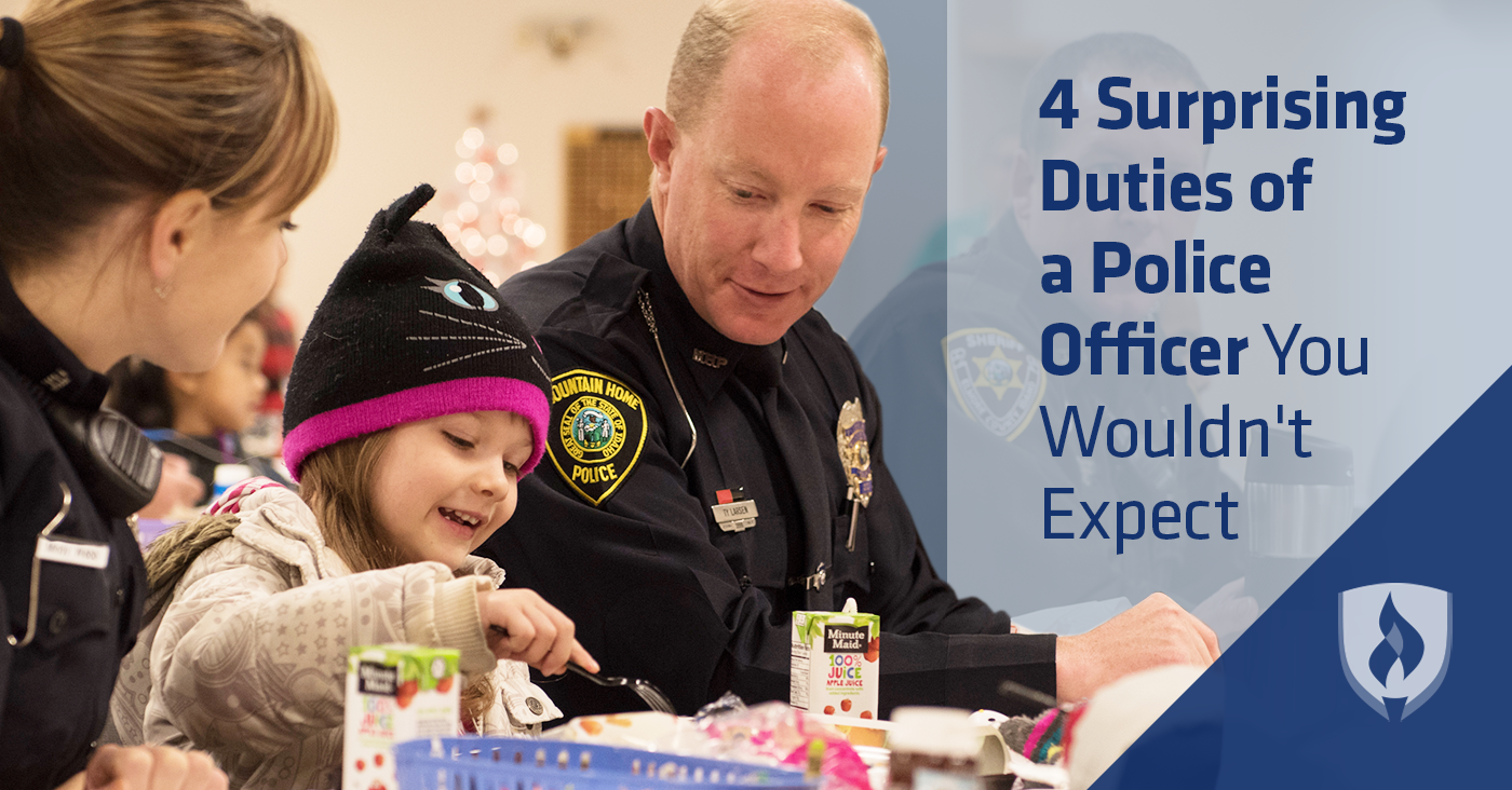 4 Surprising Duties of a Police Officer You Wouldn't