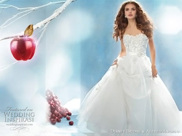Disney Fairy Tale Weddings by Alfred Angelo | Snow white wedding ...