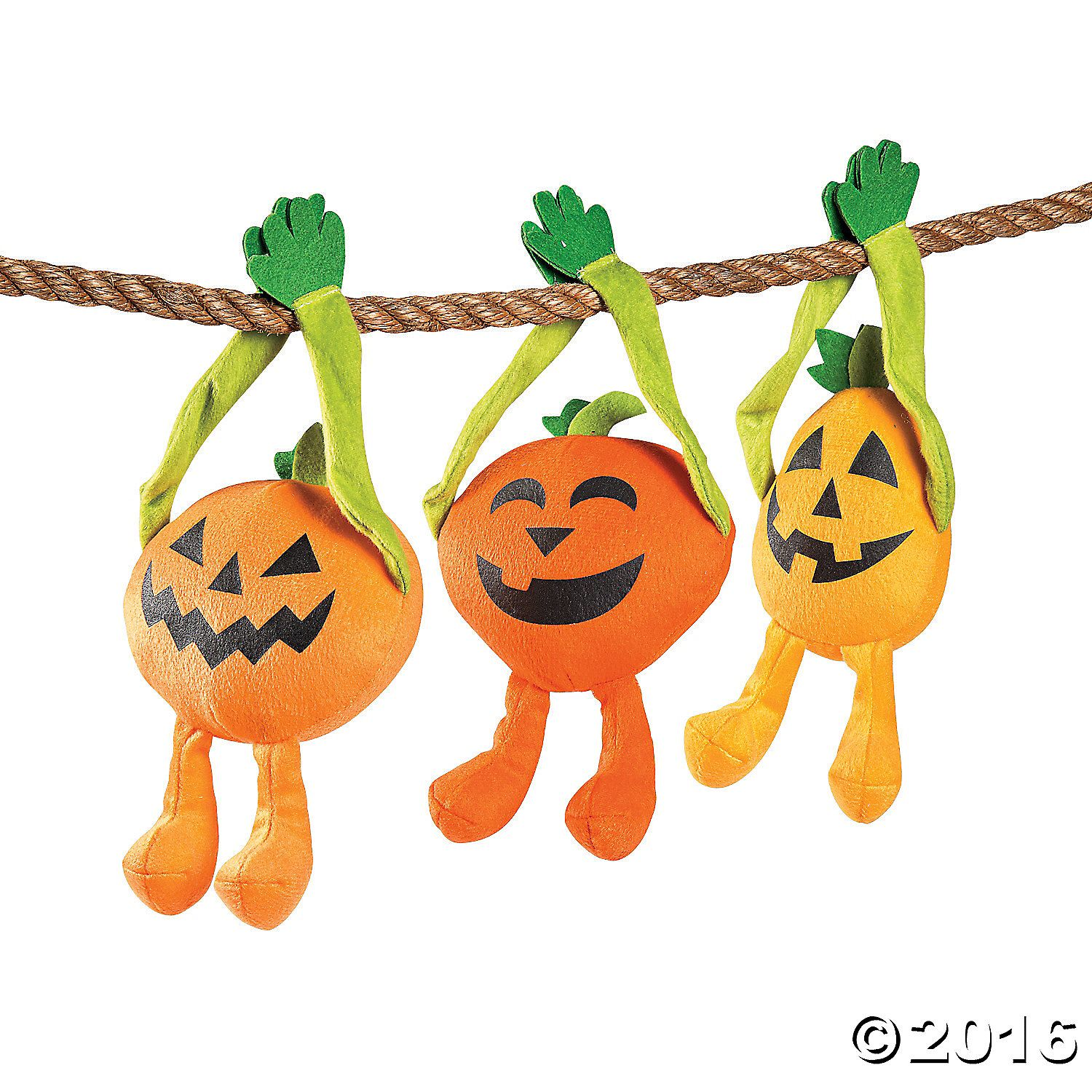 Long Arm Plush JackO'Lanterns Halloween toys, Oriental