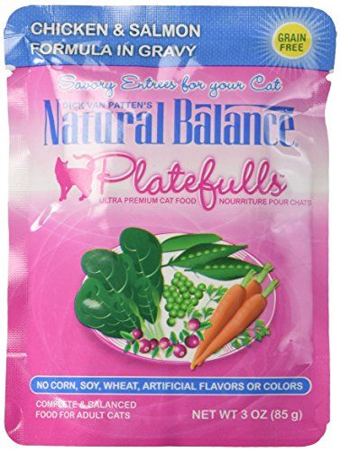 Natural Balance Indoor Platefuls Chicken Salmon Cat More Info Could Be Found At The Image Url It Is Amazon Affiliate Cat Food Salmon Cat Free Cat Food
