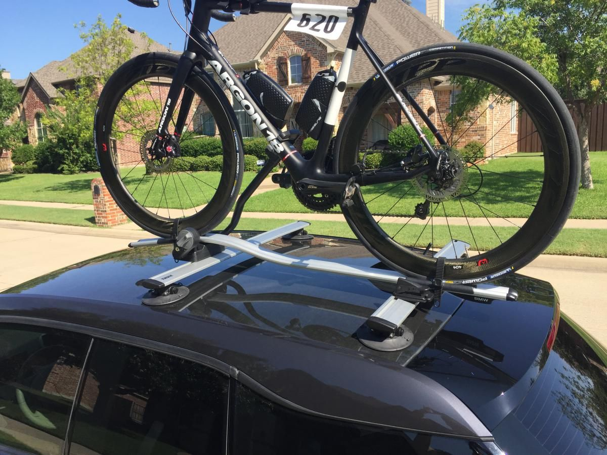I3 Bike Roof Rack | Caravaning - BMW i3 / Nissan Leaf ...