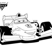 Francesco Bernoulli Cars 2 Coloring Page In 2020 Cars Coloring Pages Coloring Pages Cute Coloring Pages