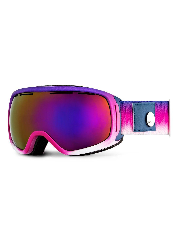 30461bd60 roxy, Rockferry - Snowboard Goggles, GRADIENT_PARADISE PINK (mlr1)