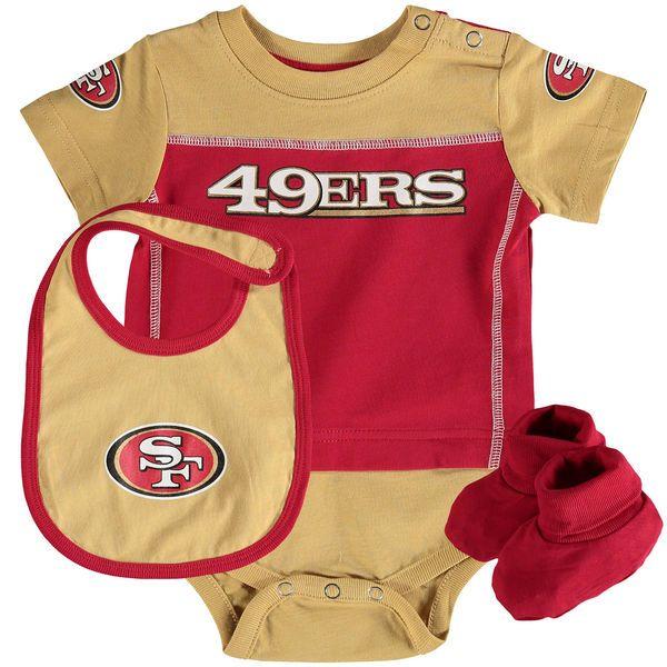 San Francisco 49ers Newborn   Infant Lil Jersey Bodysuit ec5081710
