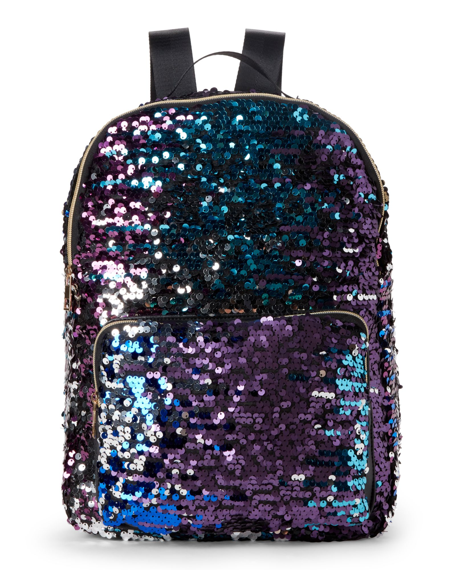 bdcde8dc427 Girls) Purple Sequin Backpack in 2019 | *Apparel & Accessories ...