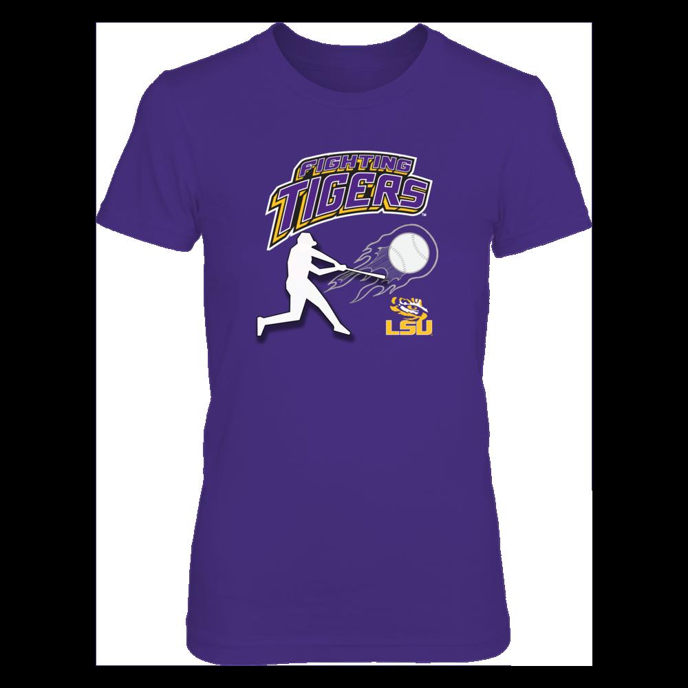 Next Level Women S Junior Fit Premium T Shirt For Family Fighting Lsu Tigers Baseball Apparel Baseball Outfit Lsu Tigers Baseball Basketball Uniforms Design