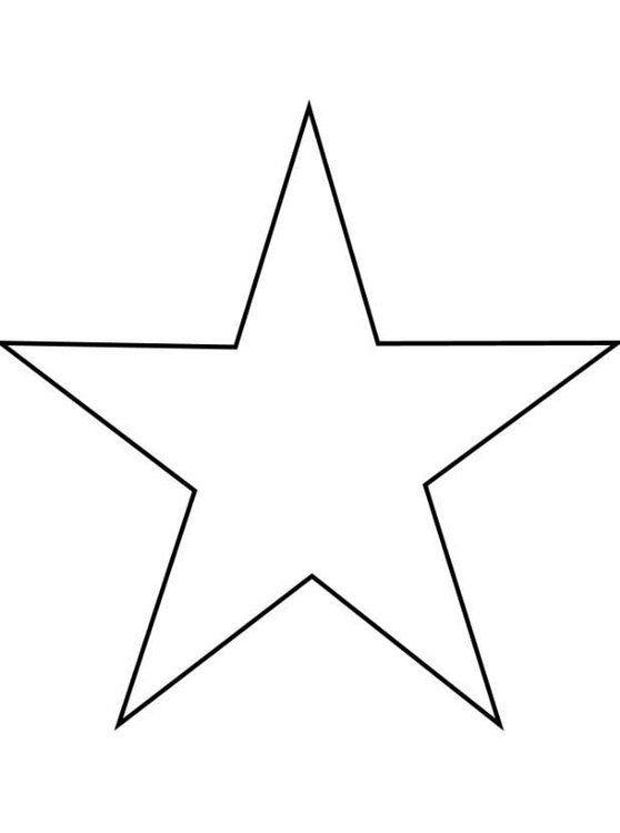 stern vorlage zum ausschneiden a4  malvorlage stern
