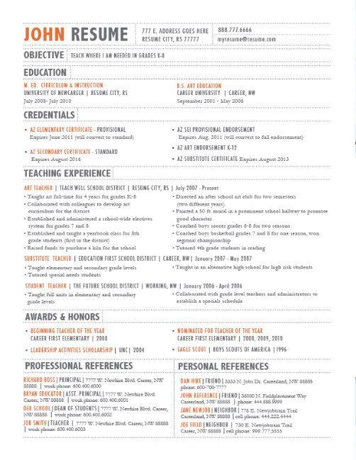 Resume Design  Layout  Resume Design  Layouts