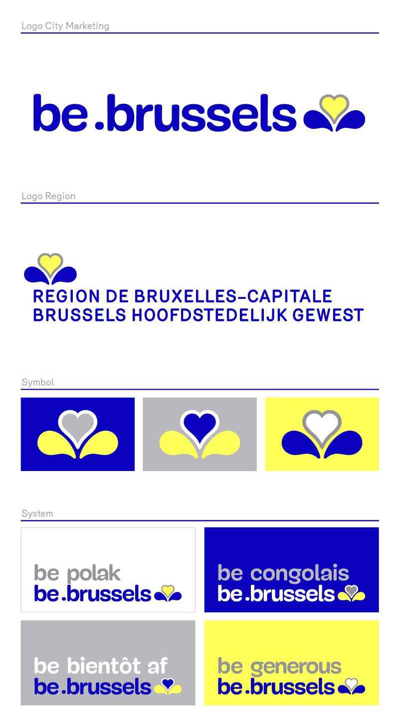 the be.brussels brand - Google Search