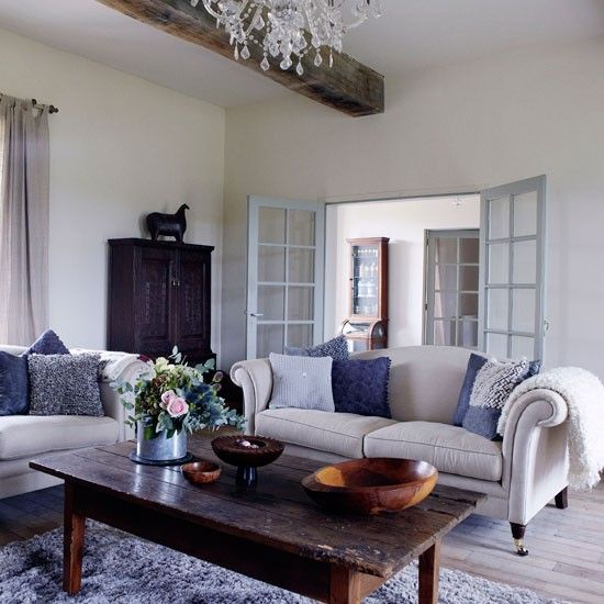 Take A Look Around A Restored French Manor House  Manor Houses Amusing French Design Living Room Decorating Design
