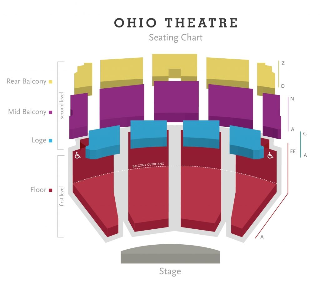 Palace Theater Columbus Ohio Seating Chart