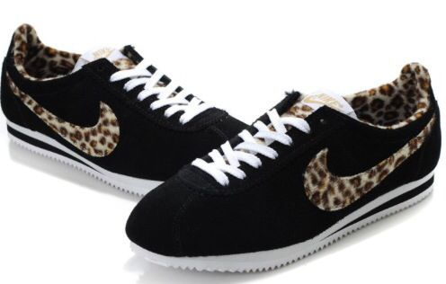 Leopard print nikes, Nike cortez