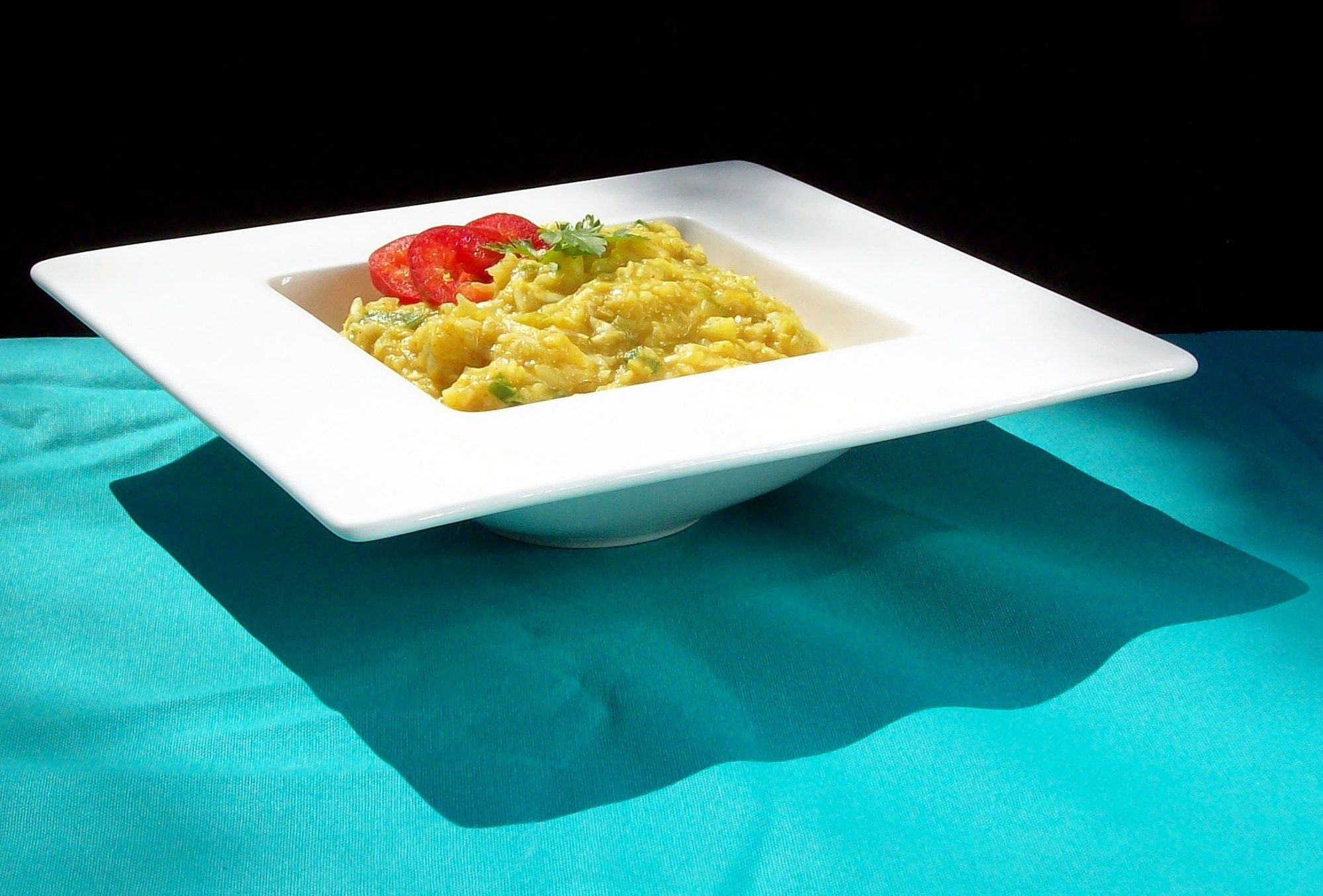 Creamy Crispy Curry Cabbage