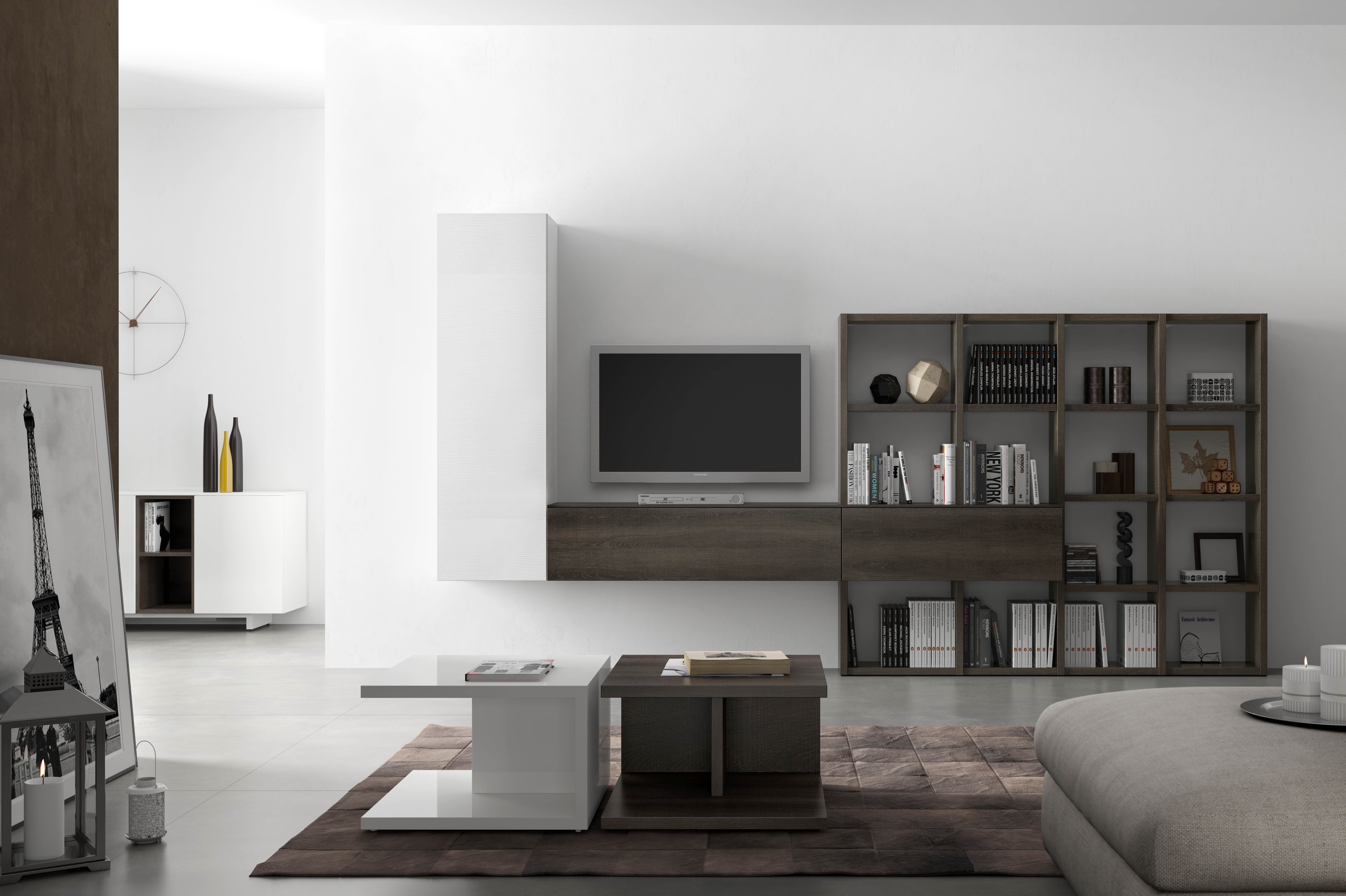 Salones modernos fabricaci n de mobiliario moderno - Muebles capsir ...