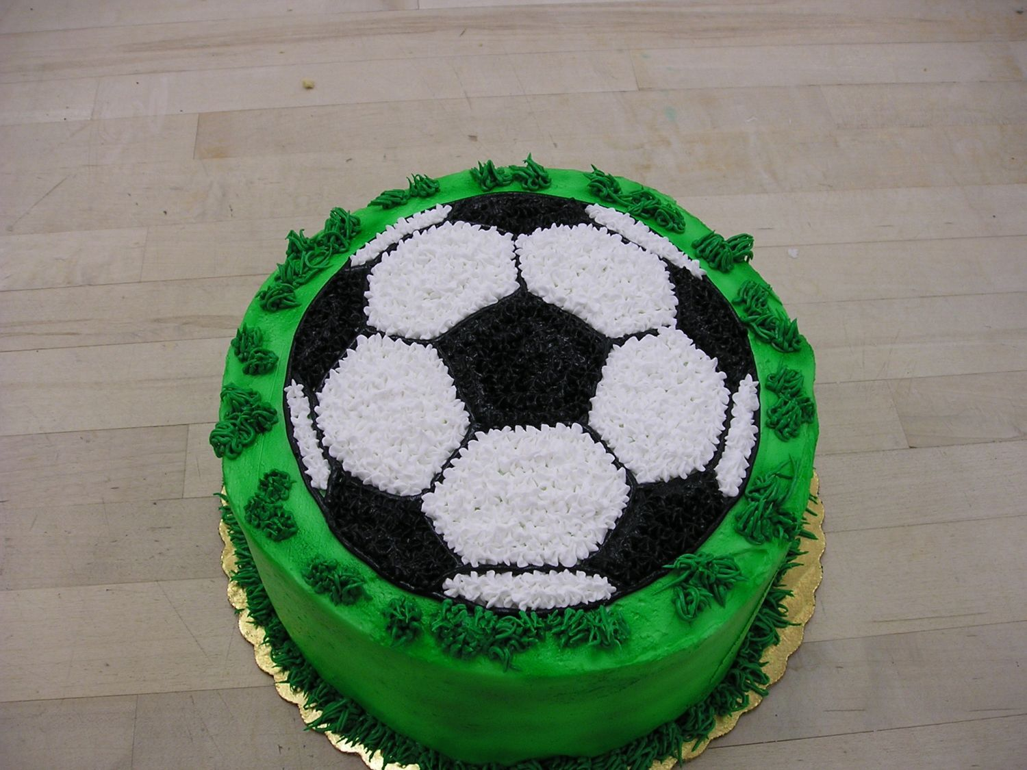 How To Make A Round Soccer Ball Cake