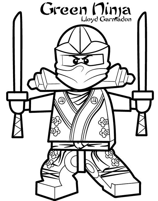 lego ninjago coloring pages of the green ninja | superhero ... - Coloring Pages Ninjago Green Ninja