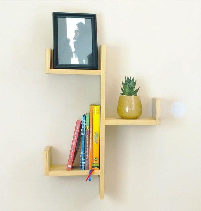 Tips Memilih Desain Rak Dinding Kayu untuk Interior Rumah ...
