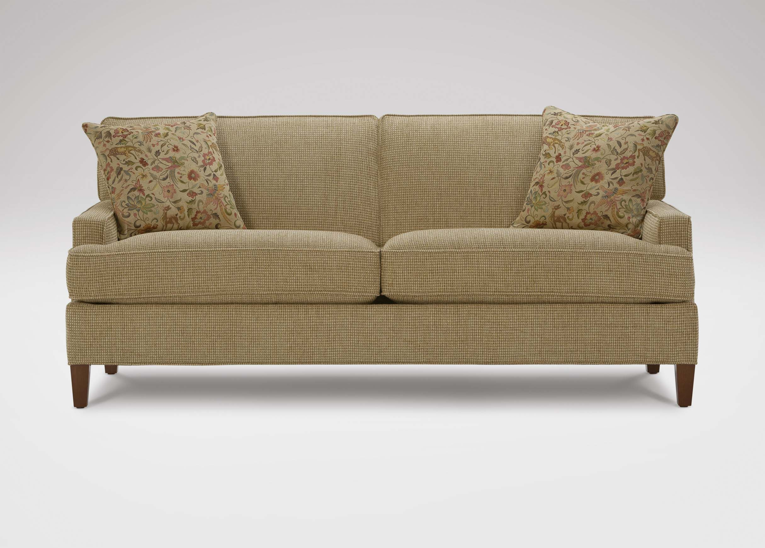 Bryant Sofa Ethan Allen A Back But With The Separation In Middle It Doesn T Look Like All S Color And Texture