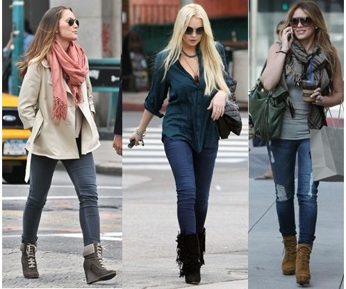 dc9ee51d333 diff ways to wear boots with skinny jeans
