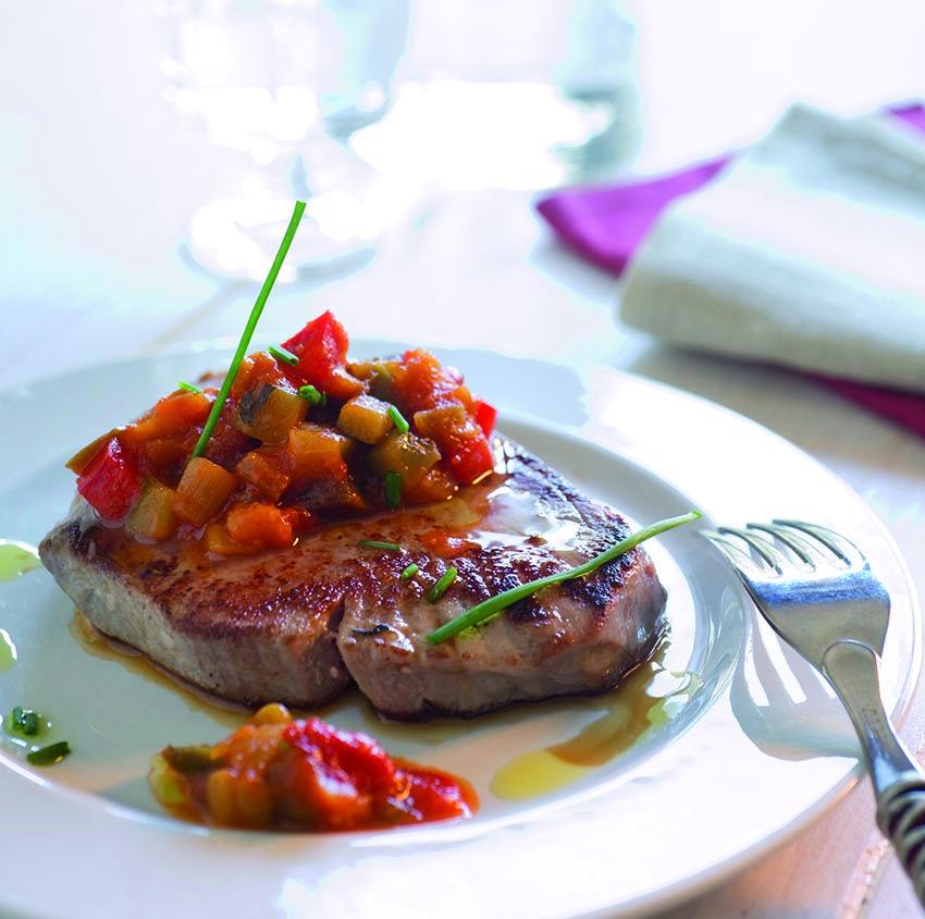 At n con sanfaina una receta sana f cil y sabrosa for Cocinar con cookeo