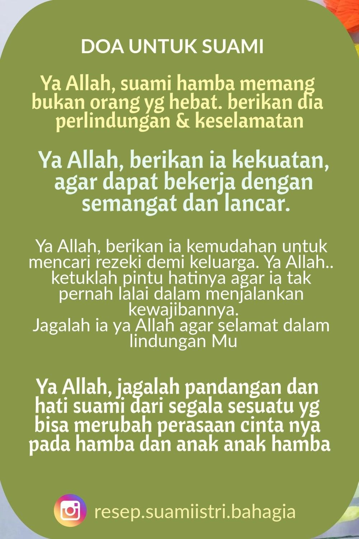 Doa Untuk Suami Tercinta Doa