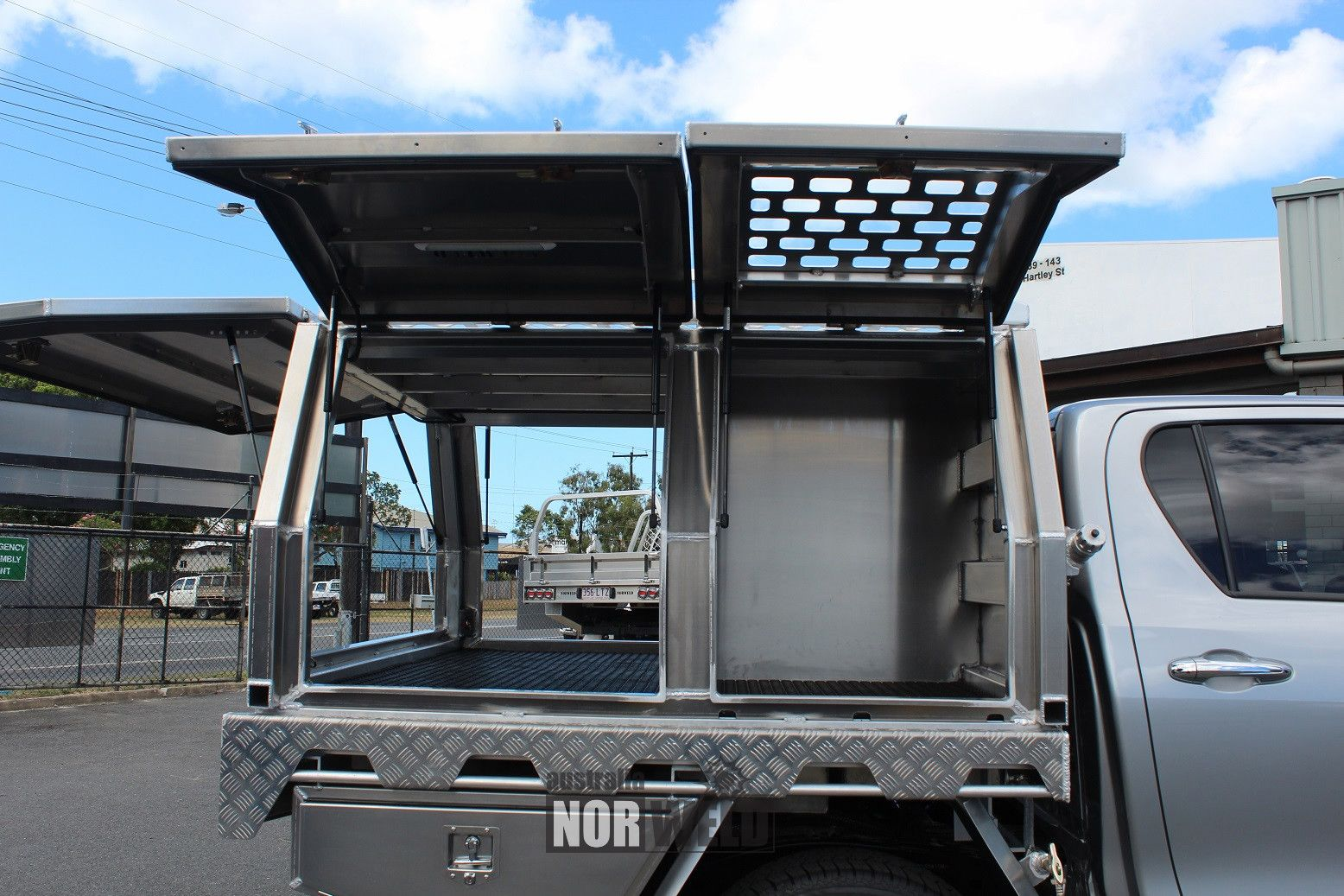 MOTOR VEHICLE CANOPIES Norweld are the leading experts in