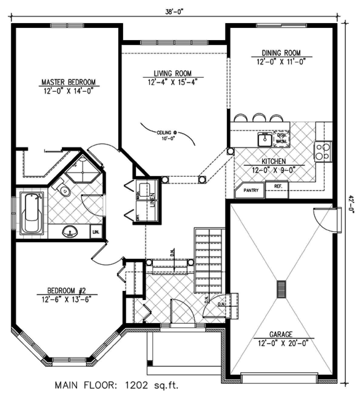 House Plan 1785 00157 European Plan 1 202 Square Feet 2 Bedrooms 1 Bathroom In 2021 House Plans Best House Plans Bungalow House Plans