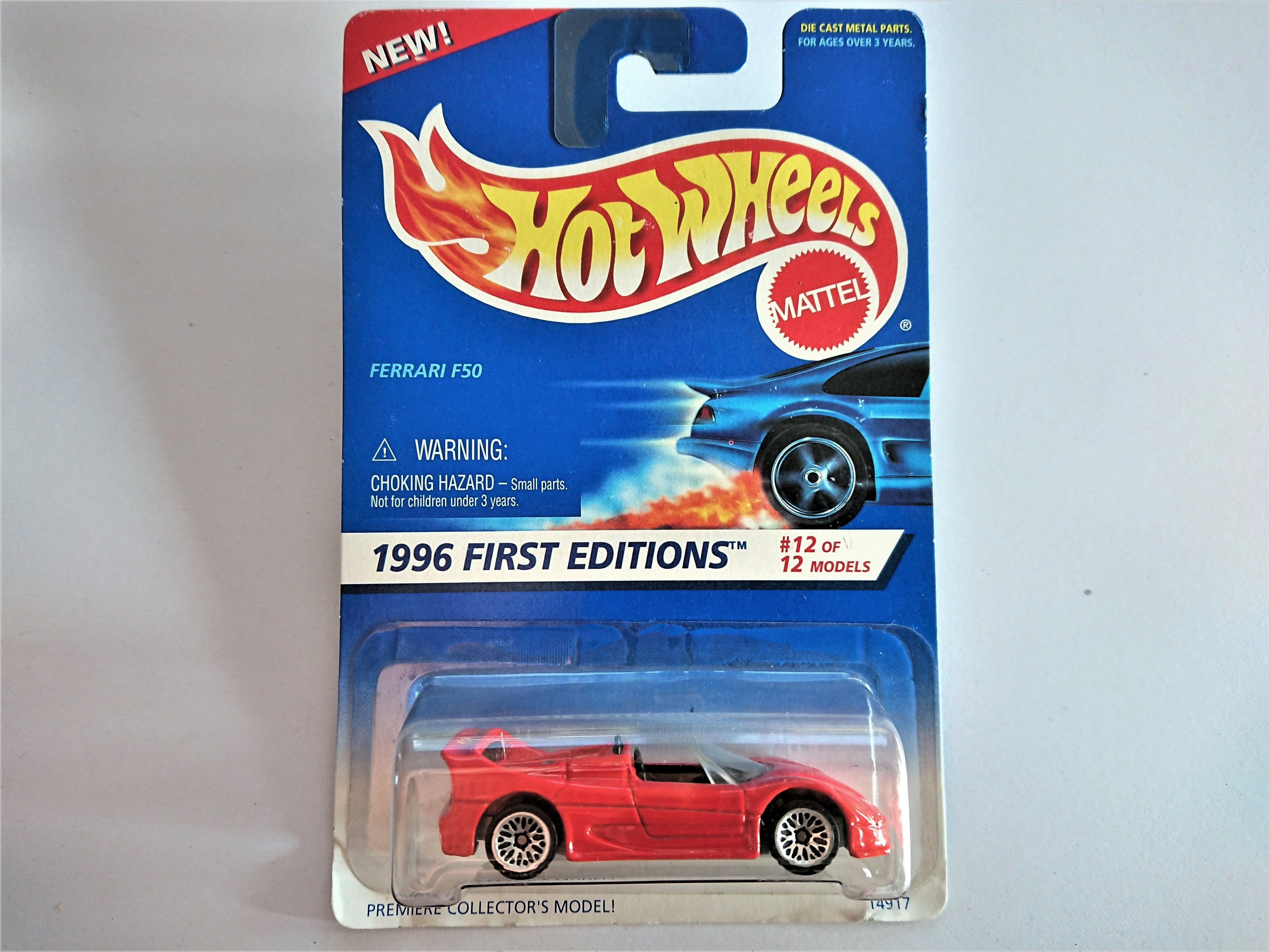 1996 Ferrari F50 Hot Wheels Hot Wheels Hot Sammlung