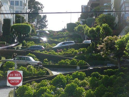 Lombard Street San Francisco - Californie