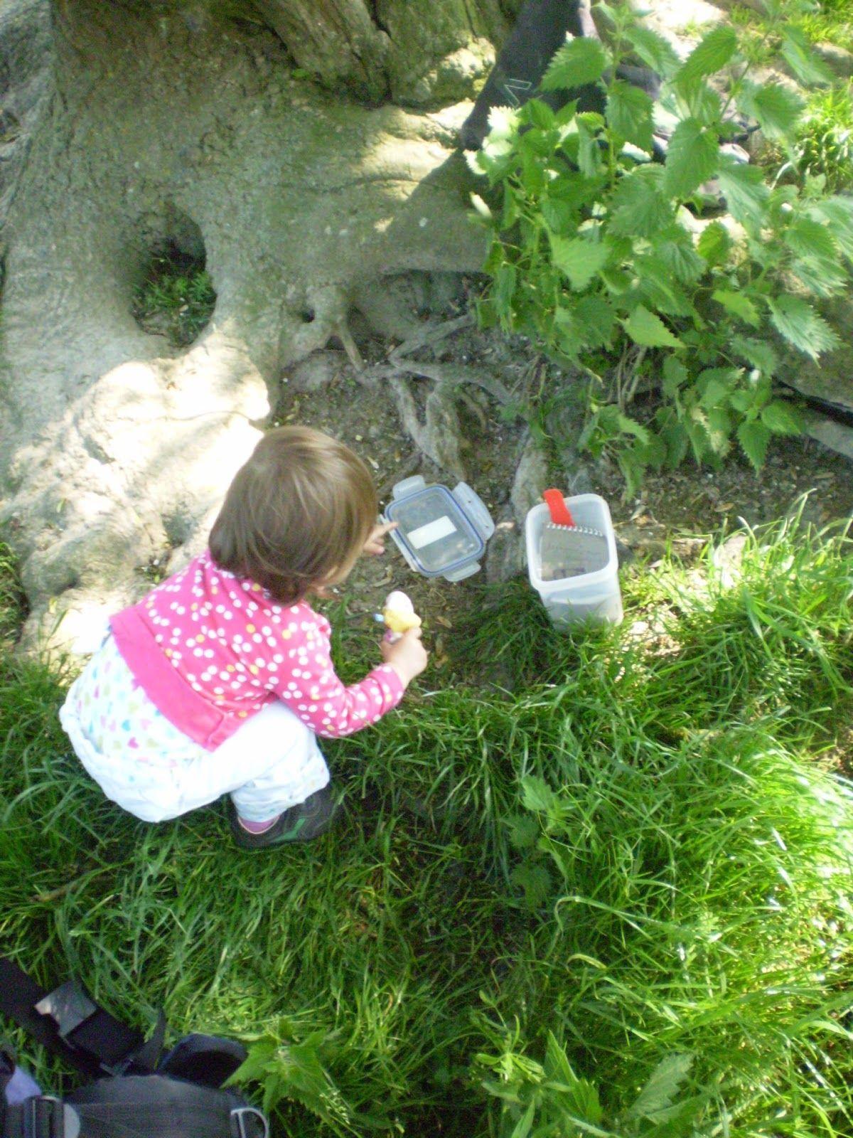 Daughter Finds Geocache
