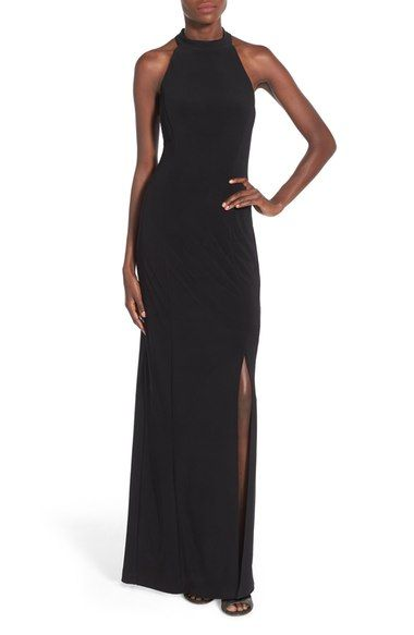 4299d1be55 Jump Apparel  Bree  Beaded Back Gown available at  Nordstrom ...